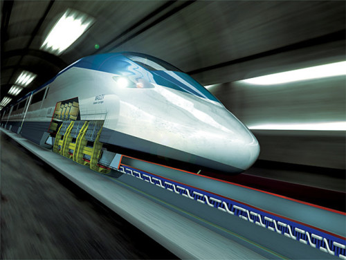 MaglevNET-Maglev-Train